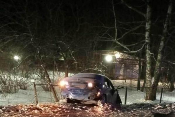 Водитель погиб на месте происшествия