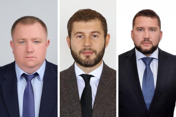 Слева направо: Павел Кива, Сергей Кальченко, Николай Машкарин