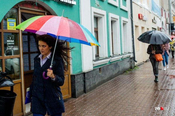В Ярославле осадки ожидаются не такими сильными, как в соседних регионах, но погоду испортит порывистый ветер