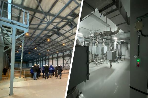 """С помощью нового склада объем хранимых отходов увеличат до&nbsp;<nobr class=""""_"""">55 тысяч</nobr> кубометров"""