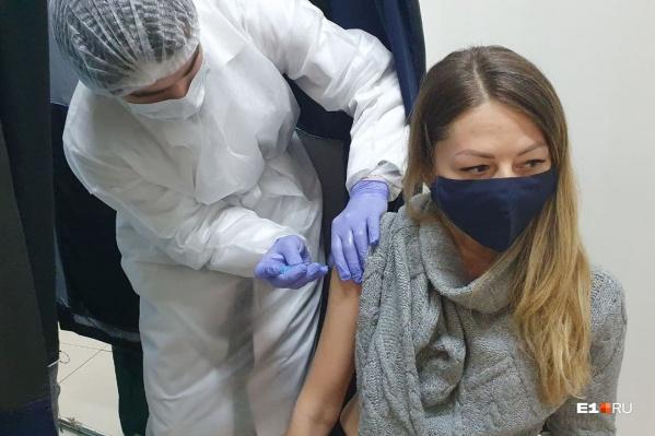 За один день работы прививочного пункта вакцину получили 250 человек