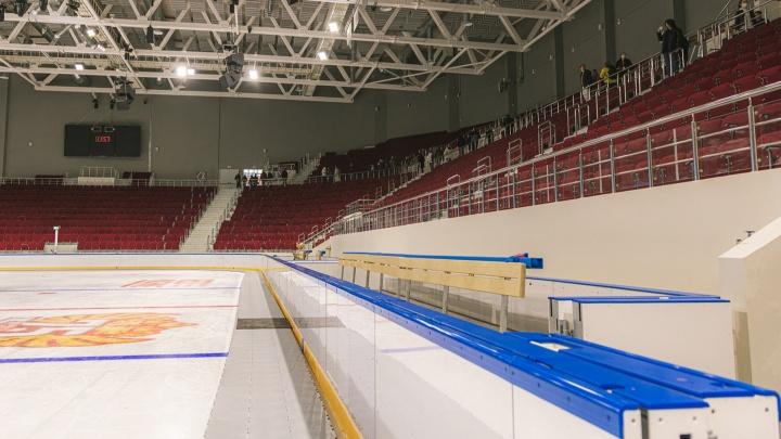 «Выберут себе шкафчики»: когда в новый Дворец спорта заедут хоккеисты ЦСК ВВС
