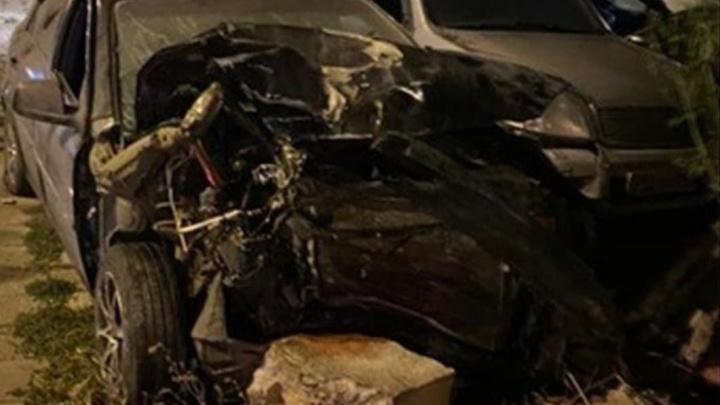 В Самаре женщина на иномарке протаранила две машины и пешехода