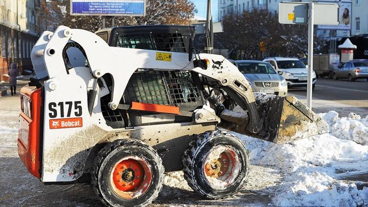 В Тюмени за 209 миллионов рублей построят склад для снега