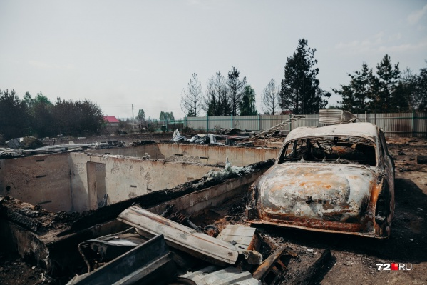 СНТ «Солнышко» сейчас самый пострадавший от лесных пожаров населенный пункт в регионе