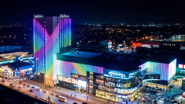 Отель Radisson рядом с ТЦ «Горизонт» откроют в конце октября