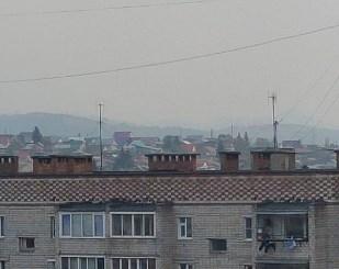 До Башкирии дошел смог от челябинских лесных пожаров