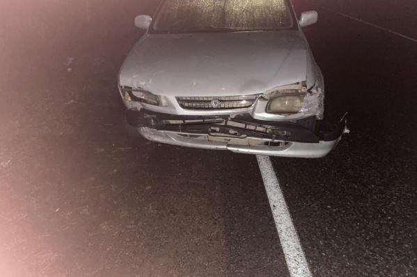 Из-за водителя пострадали трое детей