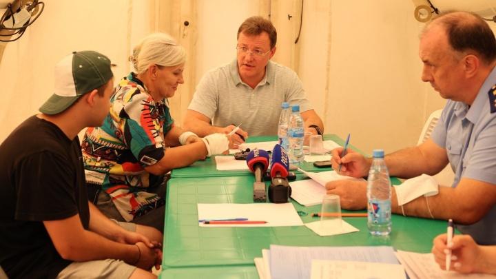 Погорельцам из Борского района пообещали помощь в восстановлении жилья