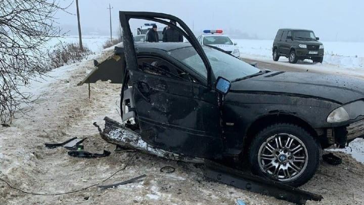 «Машина в угоне»: NN.RU узнал подробности смертельного ДТП с разорванной BMW в Арзамасском районе