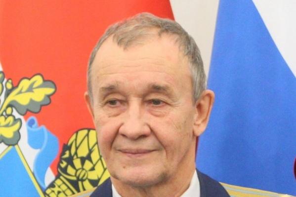 Борис Фетисов возглавил совет ветеранов Железнодорожного района в 2015 году