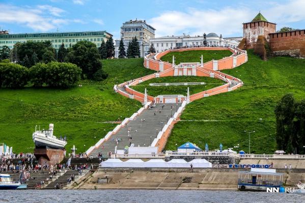 Чкаловская лестница откроется через несколько дней