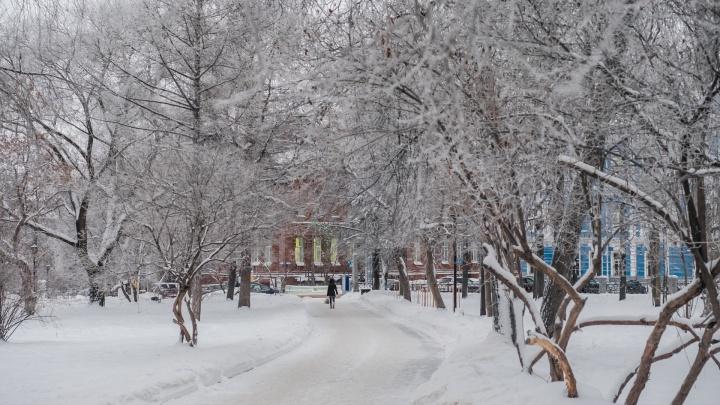 Синоптики рассказали, какой будет погода в Пермском крае до конца январских праздников