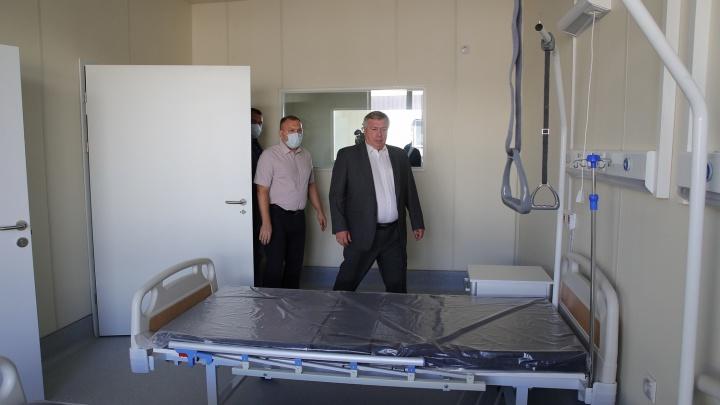 Голубев снова порадовался, что в Ростове «почти готова» инфекционка. Ее спешили открыть еще к январю