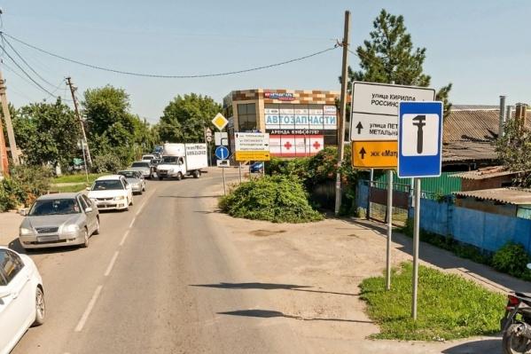 В этой части города собираются многочасовые пробки