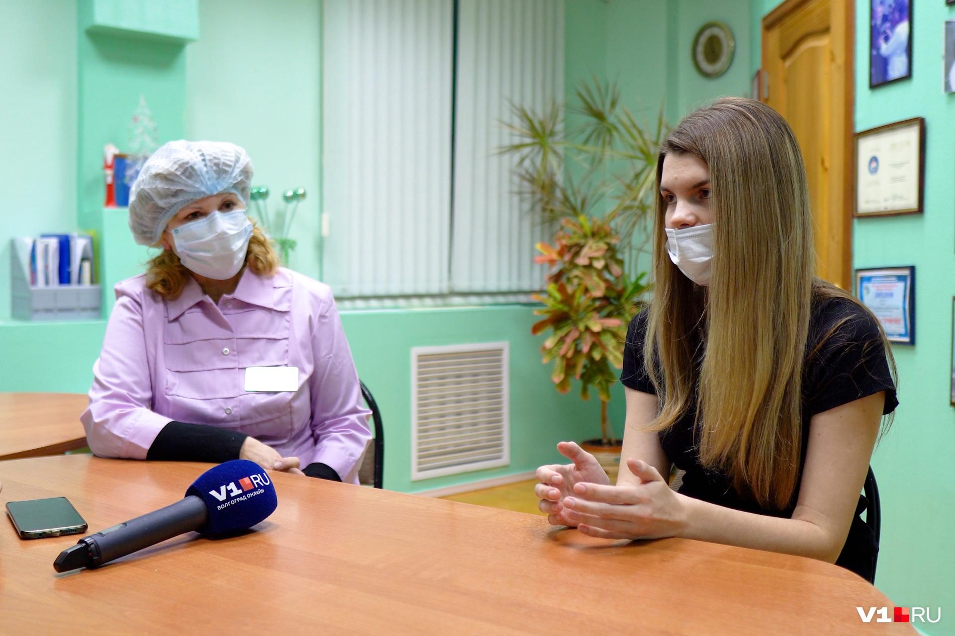 Анастасия Шахова услышала все ответы от главного врача