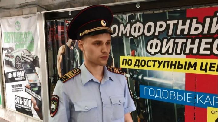 Курсанта, который остановил мужчину с топором у «Маяковского», наградили медалью