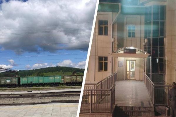 23 июля на Забайкальской железной дороге смыло опору моста на перегоне Куэнга — Укурей