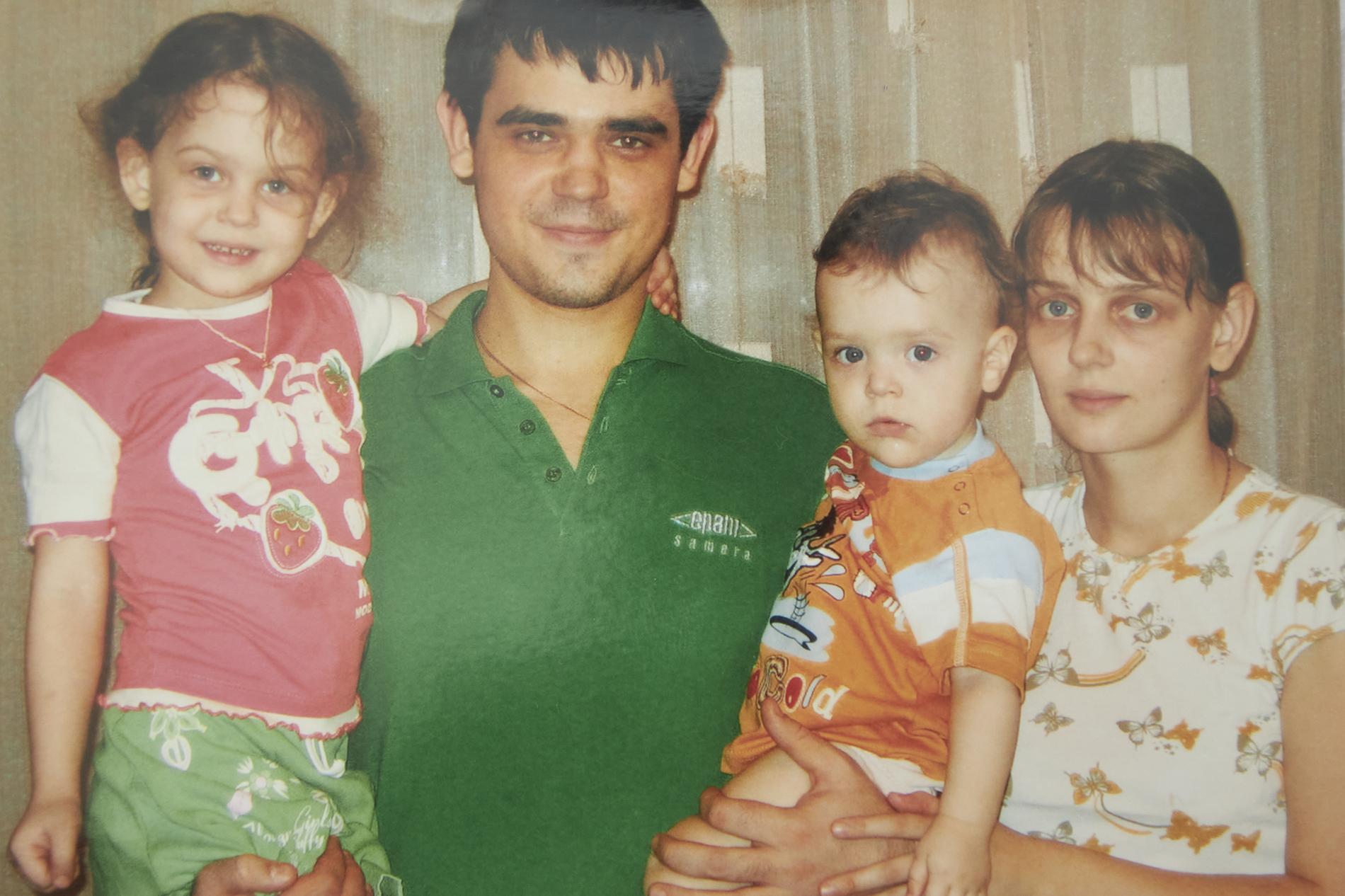 Это фото 2009 года. Тогда у Марии и Василия было двое детей: Насте— четыре года, маленькому Васе — два