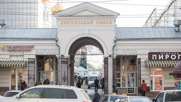 Власти: Центральный рынок не доказал законность размещения ларьков на Соборной площади