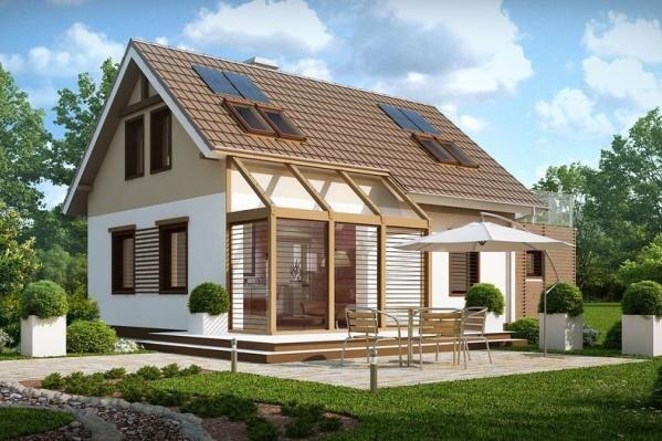 Надежный каркасный дом — это качественная древесина, утеплитель повышенной плотности — эковата, а стены, пол и потолок — цементно-стружечные плиты