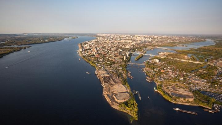 Словно Манхэттен: публикуем головокружительные фото Самары и области с высоты птичьего полета