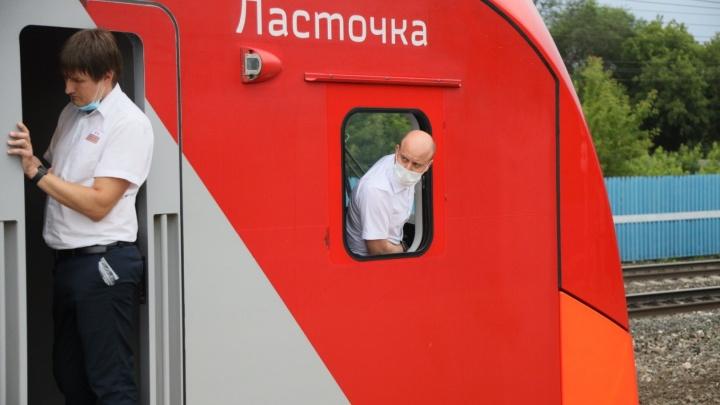 С первой «Ласточкой»! Показываем в деталях скоростную электричку до Жигулёвского моря