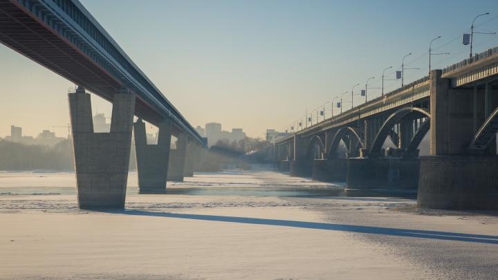 Мэрия Новосибирска назвала сроки капитального ремонта Октябрьского моста— на работы потребуется пять лет