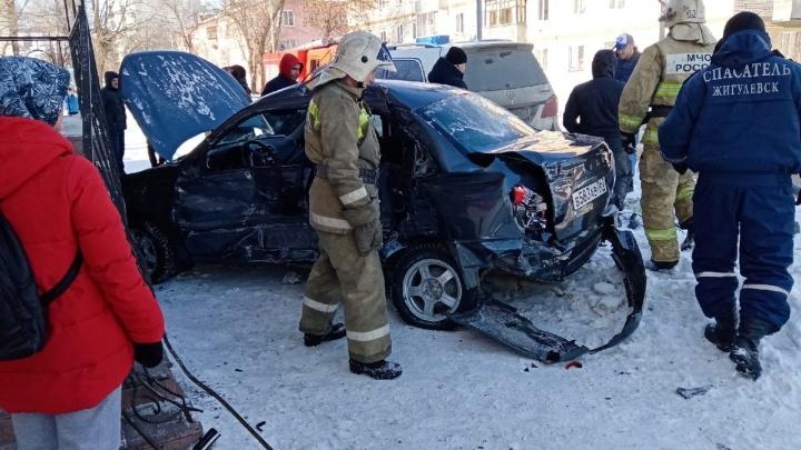 Участником ДТП с Mercedes в Жигулёвске стал сын депутата губдумы
