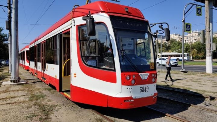 В Волгограде вновь закроют на ремонт недоделанную линию скоростного трамвая