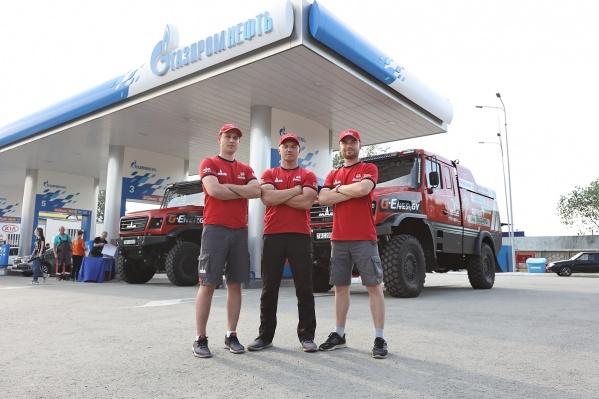 26 июня команда «МАЗ-СПОРТавто» остановилась в Челябинске для пит-стопа