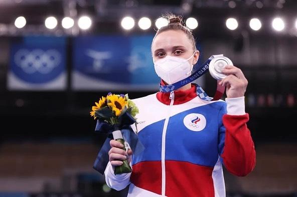 В Кузбасс прибыла призер Олимпиады Анастасия Ильянкова. Взгляните, как встречали спортсменку