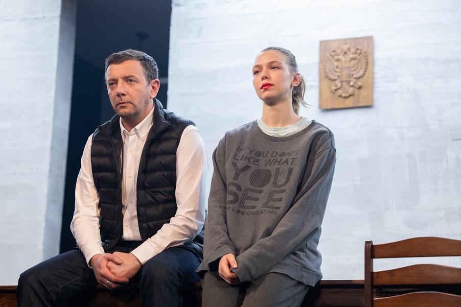 Алексей Агранович и Таисия Вилкова