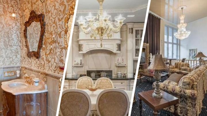 Дворцовая роскошь и позолота: обзор квартир Екатеринбурга, которые напоминают королевскую резиденцию