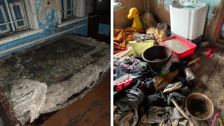 «Матвей никому не нужен»: общественники показали, в каких условиях живет спасенный из Ояшинского интерната подросток