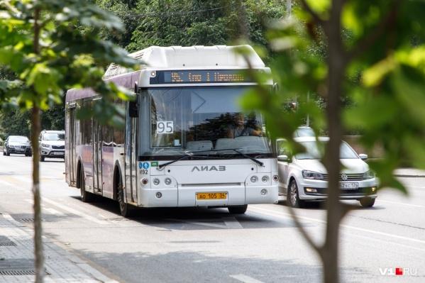"""Чаще всего волгоградцы жалуются на неработающие кондиционеры в автобусах маршрута <nobr class=""""_"""">№ 95</nobr>"""