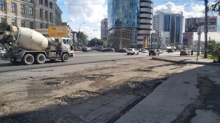 Ремонт на проспекте Димитрова обещают закончить через неделю — что там происходит сейчас