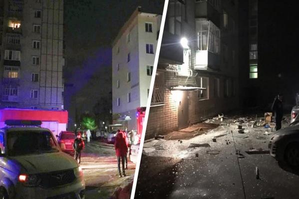 На месте происшествия найдено тело погибшего мужчины, еще одну женщину удалось спасти из-под завалов