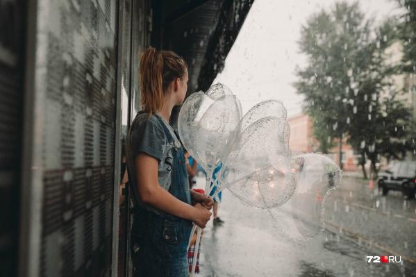 Сегодня днем обещают дожди