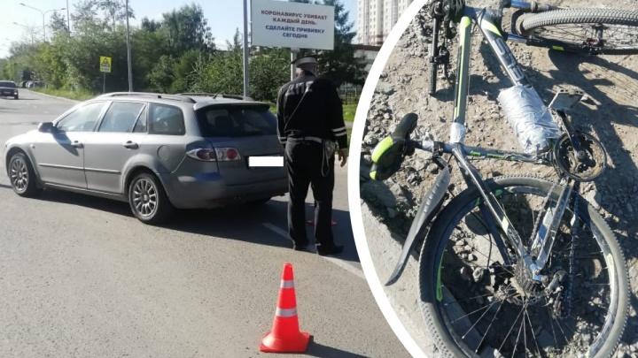На Новой Сортировке автомобилист сбил подростка на велосипеде