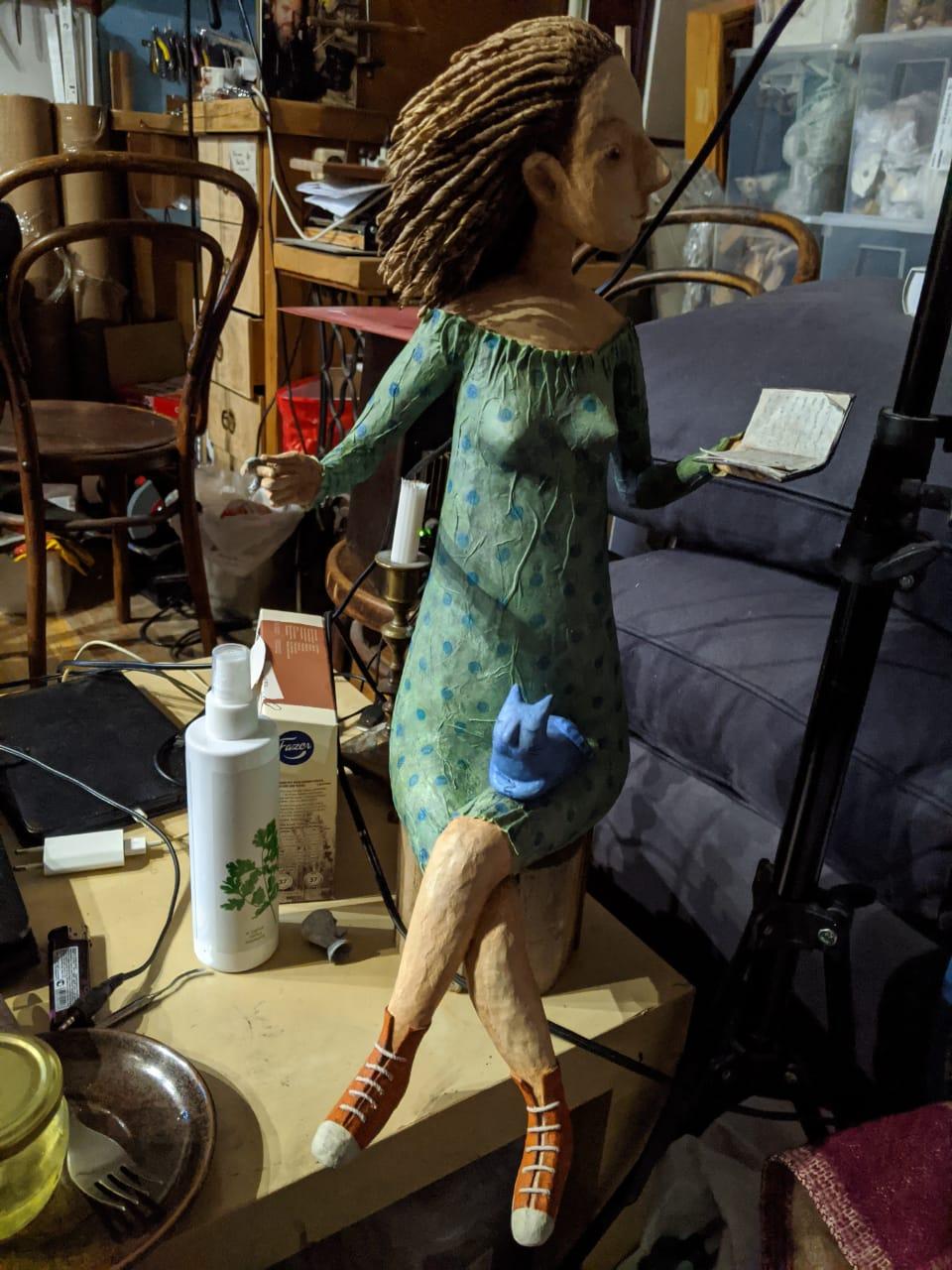 работа Марии Касьяненко в квартире на Римского-Корсакова