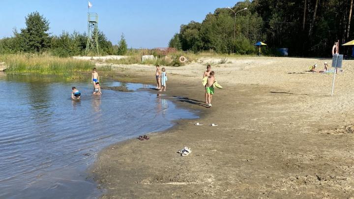 «Вода уходит сумасшедшим потоком»: жителей Челябинской области обеспокоило сильное обмеление озера Акакуль