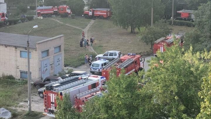 В Челябинской области пациентов эвакуировали из-за пожара в больнице