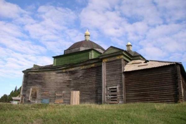 Преображенский храм до пожара