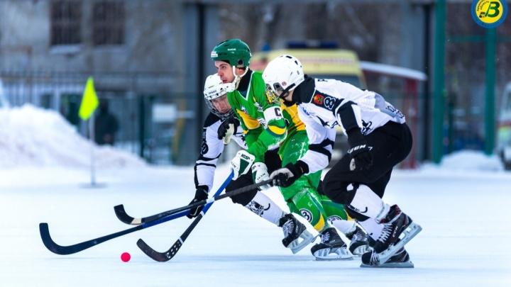 Архангельский «Водник» вышел в плей-офф чемпионата России по хоккею с мячом