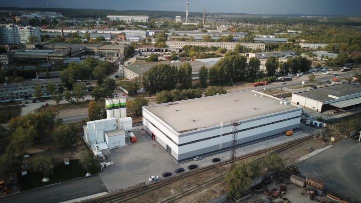В Самарской области на территории речпорта открыли новый завод