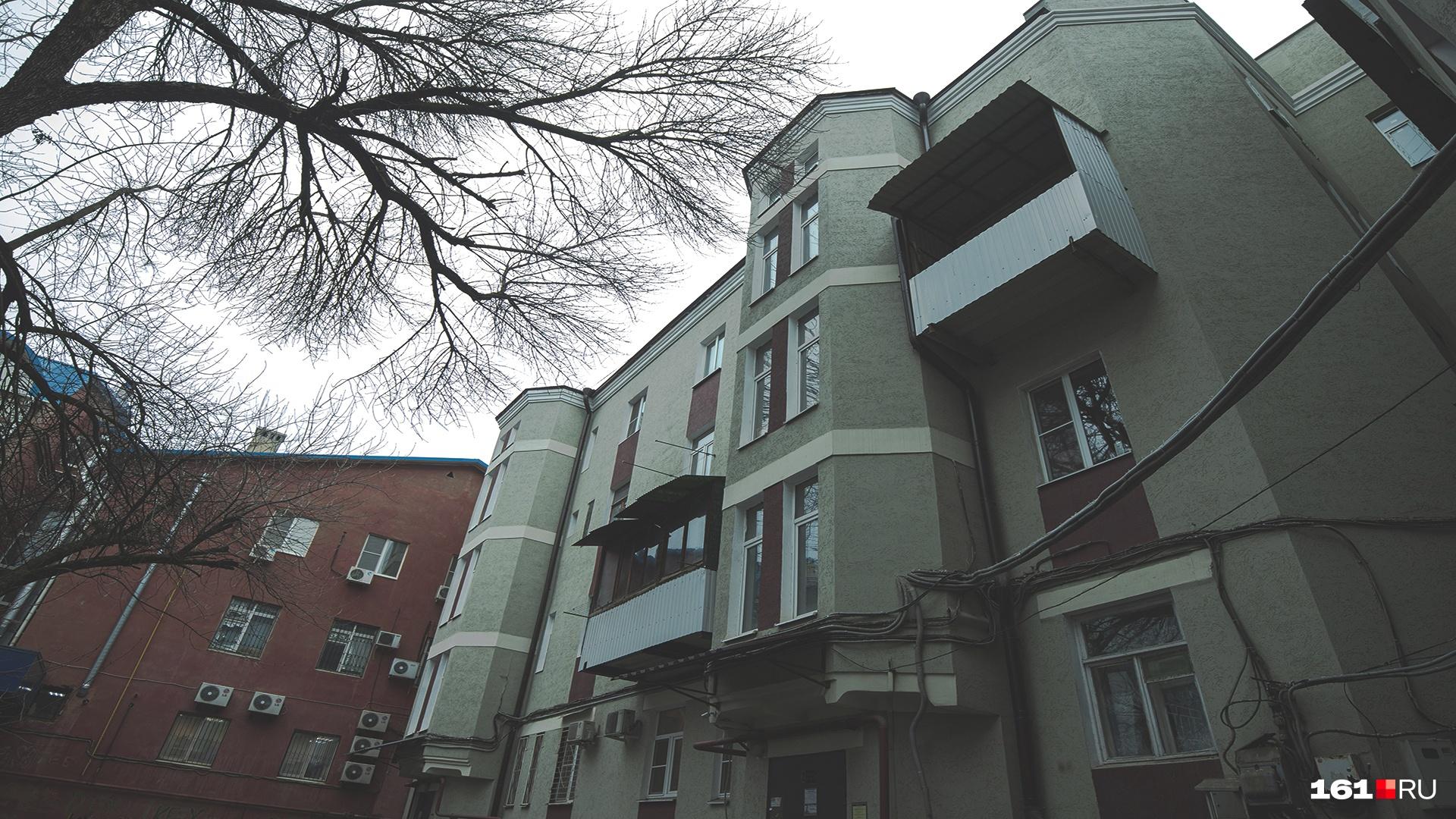 В этом доме Федяев прожил всю свою жизнь