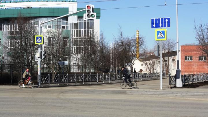 В Екатеринбурге открыли новую дорогу для жителей большого ЖК на Ботанике