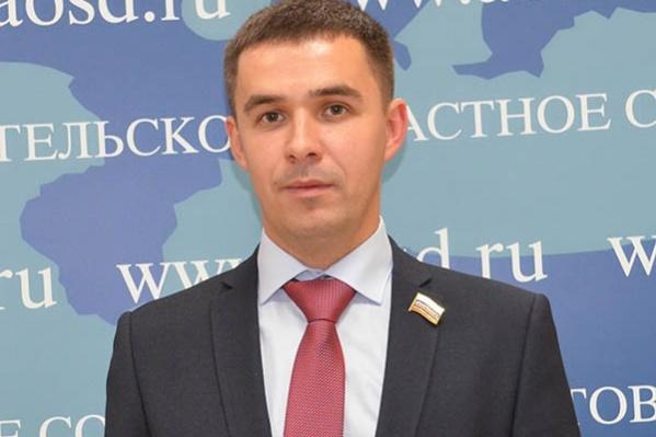 Сергей Едемский — депутат Архангельского областного собрания депутатов, член «Справедливой России»