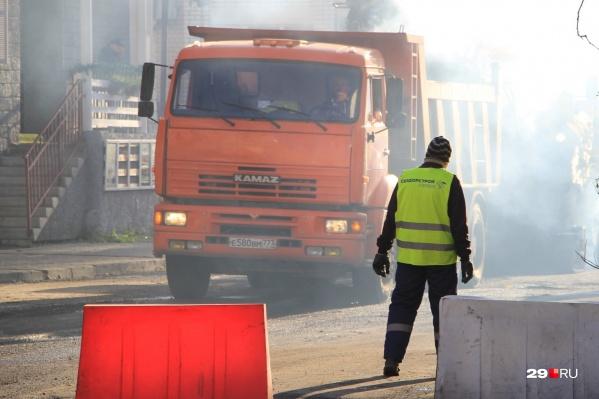 Ремонт городских дорог должен начаться в апреле